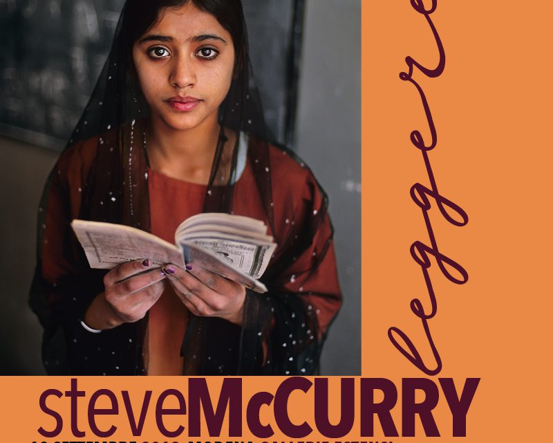 """Steve McCurry leggere"" – Galleria Estense Modena"